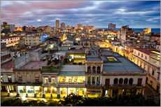 Naklejka na ścianę  View over Havana - Lee Frost