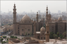Naklejka na ścianę  Mosque of Sultan Hassan in Cairo old town, Cairo, Egypt, North Africa, Africa - Martin Child
