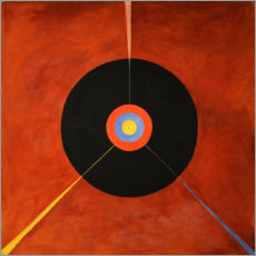 Gallery print  The Swan, No. 18 - Hilma af Klint