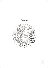 Gallery print  Zodiac Cancer - Petit Griffin