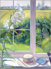 Gallery print  Reading corner in the window, detail - Timothy Easton