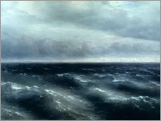 Obraz na drewnie  The Black Sea - Ivan Konstantinovich Aivazovsky