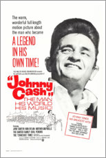 Plakat  Johnny Cash! The Man, His World, His Music - Entertainment Collection