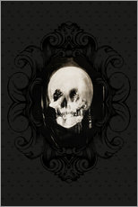 Gallery print  All is vanity (Baroque Frame) - Charles Allan Gilbert