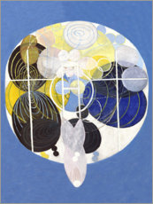 Naklejka na ścianę  The Large Figure Paintings, No. 5 - Hilma af Klint