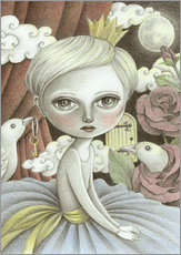 Gallery print  In a moonlit dream - Amalia K.