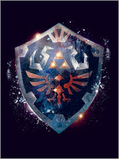 Gallery print  Epic Shield of Hyrule - Barrett Biggers