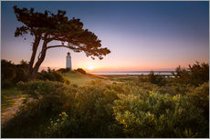 Gallery print  Sunrise at Lighthouse Dornbusch on Hiddensee - Kristian Goretzki