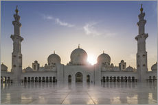 Gallery print  Sheikh Zayed Mosque - Felix Pergande