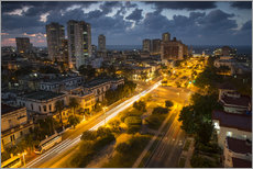 Gallery print  View of Havana - Alex Saberi