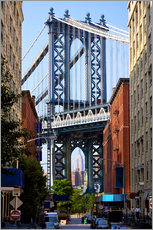 Gallery print  Manhattan Bridge and Empire State Building