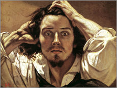 Gallery print  The Desperate, Gustave Courbet - Gustave Courbet