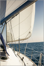 Gallery print  White sails and the open sea