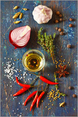 Gallery print  Spices and Herbs