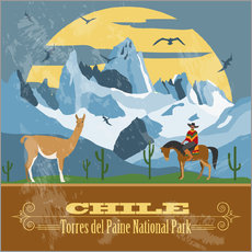 Gallery print  Chile - Torres del Paine
