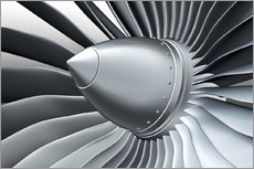 Gallery print  Detail of a propeller