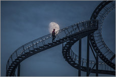 Gallery print  Stairway to the moon - Roelof de Hoog