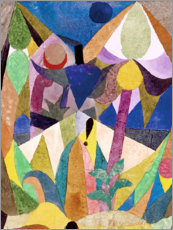 Obraz na drewnie  Tropical Landscape - Paul Klee