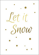 Gallery print  Let it Snow - Finlay and Noa