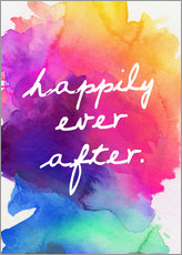 Gallery print  Happily Ever After - Happy to the end of life - Finlay and Noa