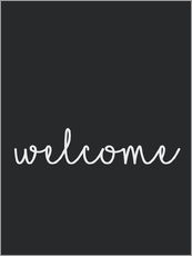 Gallery print  Welcome - Finlay and Noa