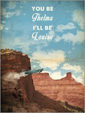 Gallery print  Thelma and Louise - 2ToastDesign