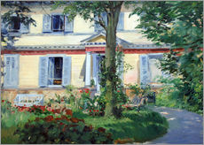 Gallery print  Country house in Rueil - Edouard Manet