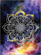 Gallery print  Space mandala - Nory Glory Prints