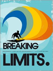 Gallery print  Retro surfer, breaking limits - 2ToastDesign