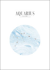 Gallery print  AQUARIUS | WASSERMANN - Stephanie Wünsche