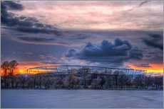 Gallery print  Clouds above the HDI Arena - Holger Bücker (BuPix)