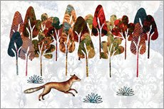 Gallery print  Autumn fox - Mandy Reinmuth