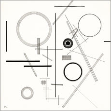 Gallery print  Concentric Circles - Wassily Kandinsky