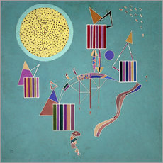 Gallery print  Intime Message - Wassily Kandinsky