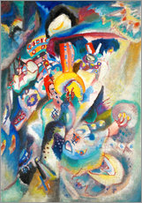 Gallery print  Moscow II (Red Square) - Wassily Kandinsky