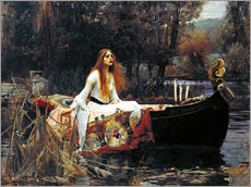 Gallery print  Pani z Shalott - John William Waterhouse
