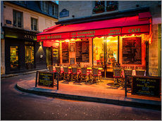 Gallery print  Parisian cafe, Paris, France, Europe - Jim Nix