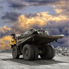 Gallery print  Severe weather in the gravel pit