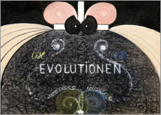 Obraz na drewnie  Evolution, No. 7 - Hilma af Klint