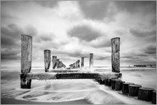 Gallery print  Winter at the sea