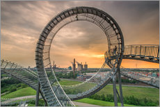 Naklejka na ścianę  Tiger & Turtle Magic Mountain Duisburg - Dennis Stracke