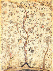 Gallery print  Tree against a yellow ground - Indian School