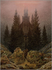 Gallery print  Crucifix in Forest - Caspar David Friedrich