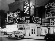 Naklejka na ścianę  Cotton Club in Harlem, New York