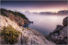 Gallery print  Morning light at the lighthouse Cala Ratjada / Capdepera (Majorca / Spain) - Kristian Goretzki