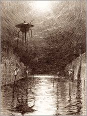 Gallery print  Martian Machine Over the Thames - Henrique Alvim Correa