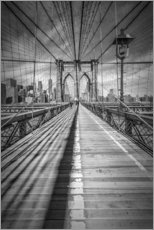 Naklejka na ścianę  Brooklyn Bridge, New York City - Melanie Viola