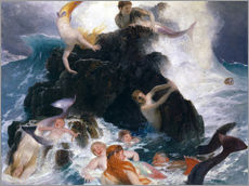 Gallery print  Game of the Naiads - Arnold Böcklin