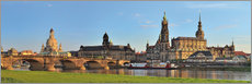 Gallery print  Dresden Canaletto view - FineArt Panorama