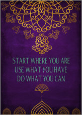 Gallery print  Do what you can - Sybille Sterk